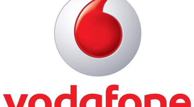 Vodafone, Telecommunications Company, Logo, Full HD Wallpaper