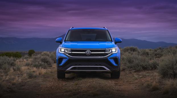 Volkswagen Taos Wallpaper 320x480 Resolution
