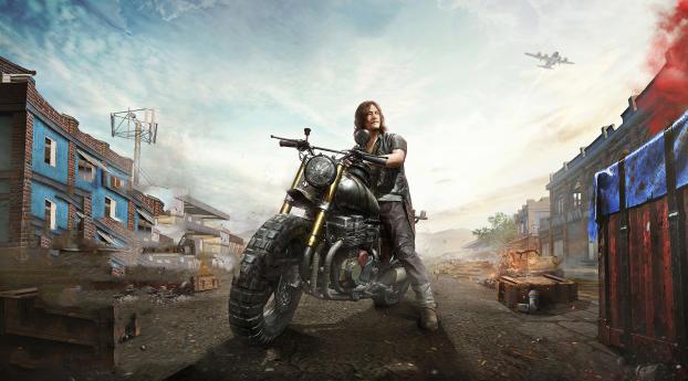 HD Wallpaper   Background Image Walking Dead X PUBG