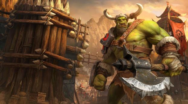 Warcraft 3 4k Wallpaper 1600x900 Resolution