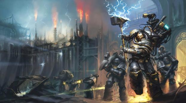 HD Wallpaper | Background Image Warhammer 40K
