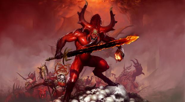 HD Wallpaper | Background Image Warhammer Demon