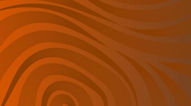 HD Wallpaper | Background Image Wavy Orange