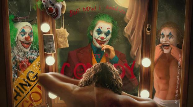 We Are All Clowns Joker Art Wallpaper Hd Artist 4k
