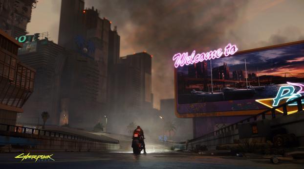 Welcome Cyberpunk 2077 Wallpaper 1440x2560 Resolution
