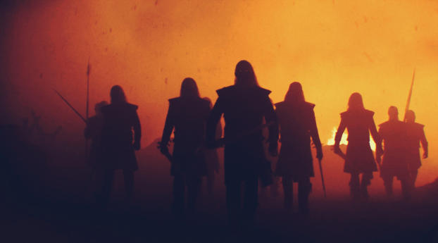 HD Wallpaper | Background Image White Walkers In Winterfell