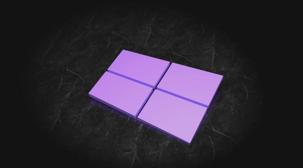 HD Wallpaper | Background Image Windows 10 3D Logo