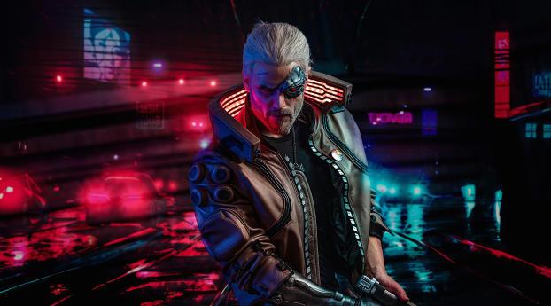 HD Wallpaper | Background Image Witcher Cyberpunk 2077