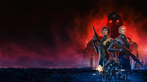 HD Wallpaper | Background Image Wolfenstein Youngblood 8K