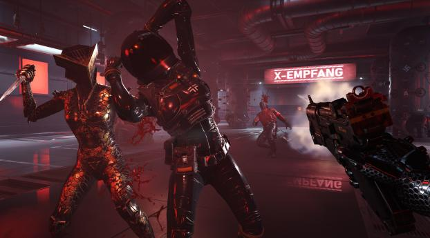 HD Wallpaper | Background Image Wolfenstein Youngblood Game 2019