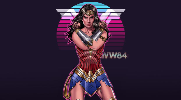 Wonder Woman 1984 Artwork Wallpaper in 2560x1600 Resolution