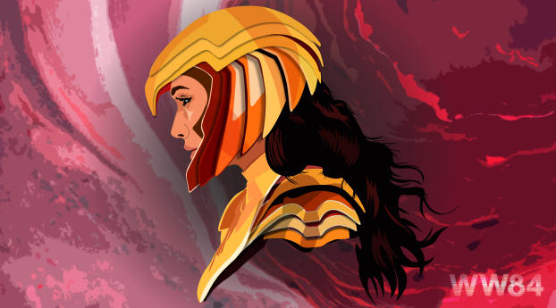 Wonder Woman 1984 Headshot Wallpaper