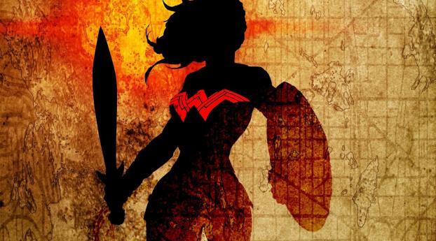 HD Wallpaper | Background Image Wonder Woman Latest Art