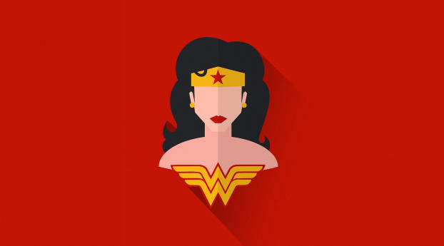 HD Wallpaper | Background Image Wonder Woman Minimal