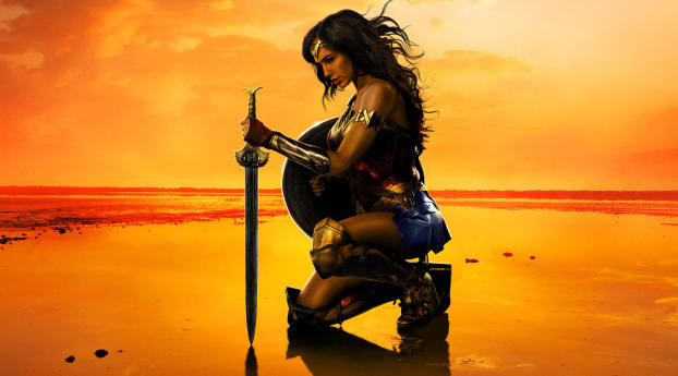 HD Wallpaper | Background Image Wonder Woman Movie Poster