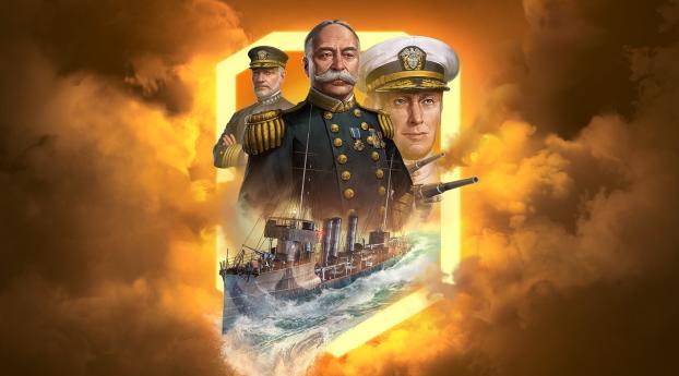 HD Wallpaper | Background Image World of Warships Legends - Rising Legend