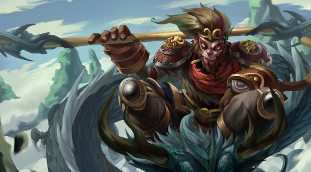 HD Wallpaper | Background Image Wukong League Of Legends