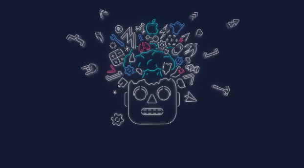 HD Wallpaper | Background Image WWDC 2019 Robot