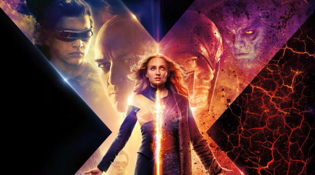 X Men Dark Phoenix 2019 Movie New Poster Wallpaper Hd Movies 4k Wallpapers Images Photos And Background
