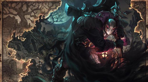 HD Wallpaper | Background Image Yorick League of Legends