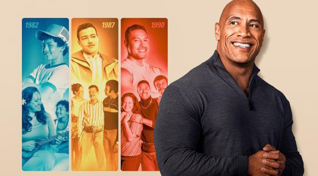 Young Dwayne The Rock Johnson Wallpaper