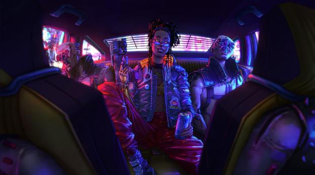 Your Night City Cyberpunk 2077 Wallpaper