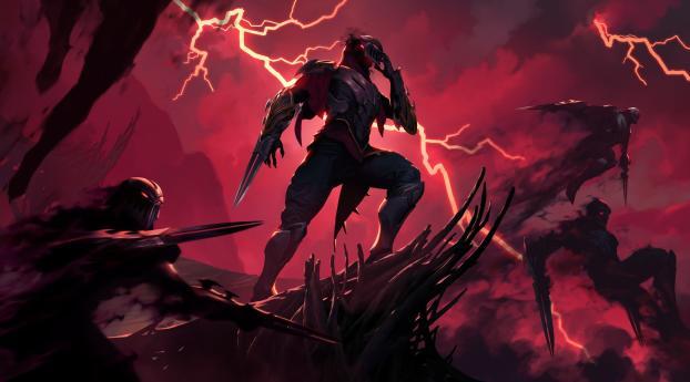 HD Wallpaper | Background Image Zed in Legends of Runeterra