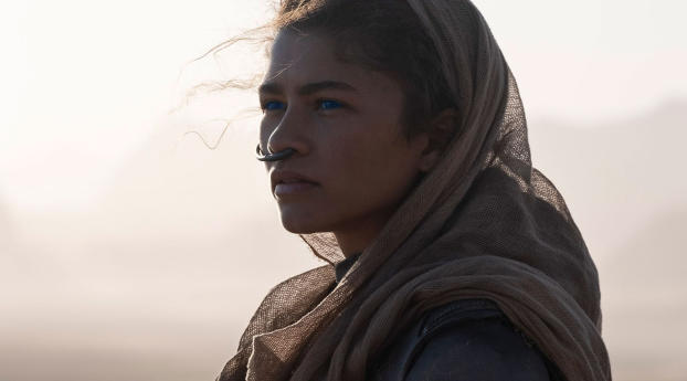 Zendaya as Chani in Dune 2020 Wallpaper