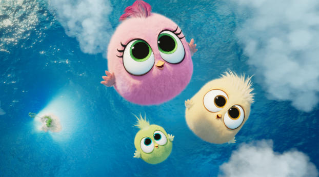 HD Wallpaper | Background Image Zoe, Vivi, and Sam-Sam in Angry Birds 2