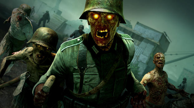 HD Wallpaper | Background Image Zombie Army Dead War