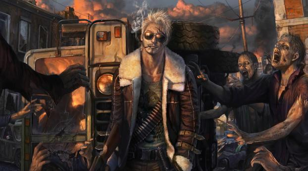HD Wallpaper | Background Image Zombie Warrior
